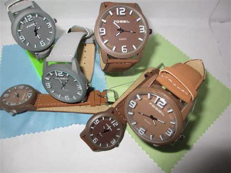 Jam Tangan Pria Cowok Wanita Cewek Fossil 1 jual jam tangan fossil fosil motif kayu pria wanita cewek
