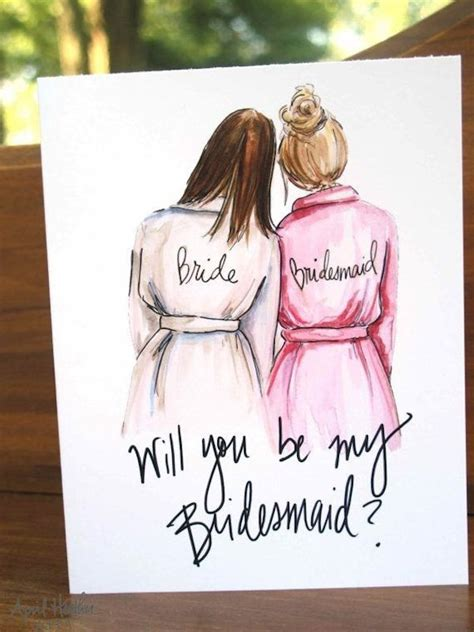 10 creative will you be my bridesmaid ideas tulle