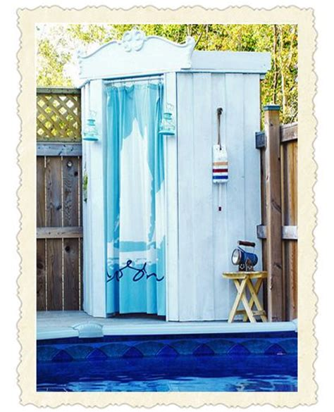 diy outdoor changing room 25 best ideas about above ground pool on