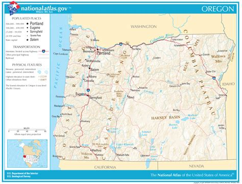 oregon state map oregon state maps interactive oregon state road maps state maps
