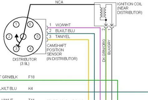 electrical wire distributors 1998 dodge dakota distributor cap wire electrical problem