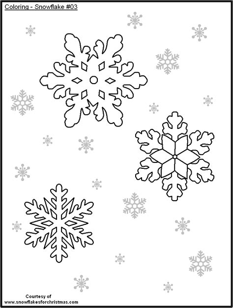printable snowflakes small free coloring pages of snowflake templates