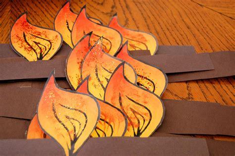 holy spirit crafts for preparing for pentecost haupt
