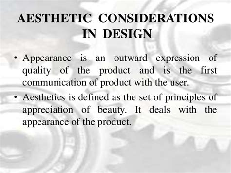 design consideration definition design considerations and engineering materials