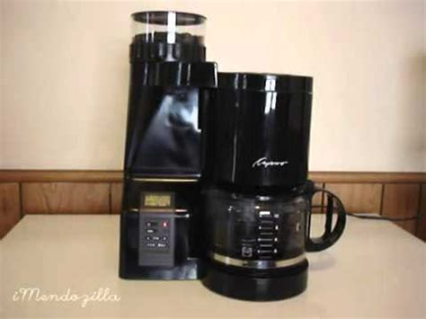 Coffee Machine With Grinder Reviews Coffee Maker Grinder Review