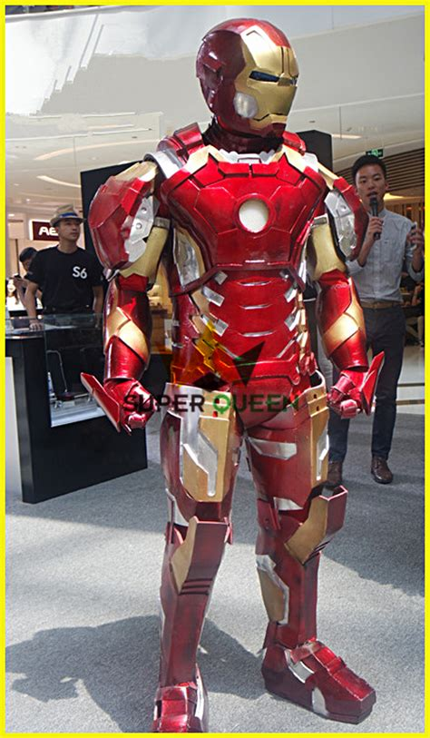 wearable iron man mark xliii costume adults