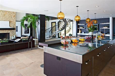 Multi Kitchen multi million dollar house on malibu architecture design