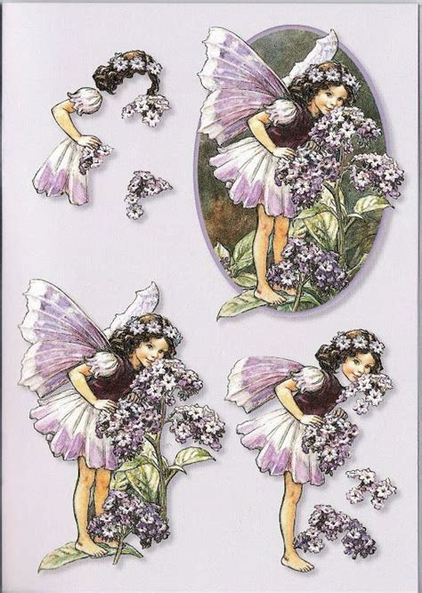 3d Decoupage Prints - 80 best images about 3d flower fairies on