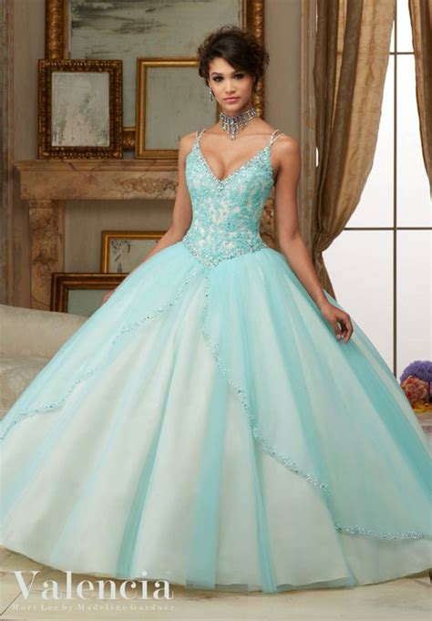 33 vestidos xv anos color aqua 19 ideas para fiestas