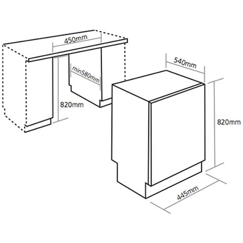 standard kitchen appliance dimensions typical dishwasher dimensions axiomseducation com
