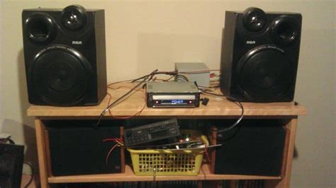 Connect Car Subwoofer In Home Car Stereo To Home Stereo With A Psu 7 Steps