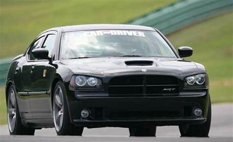 dodge charger 2006 srt8 car and driver