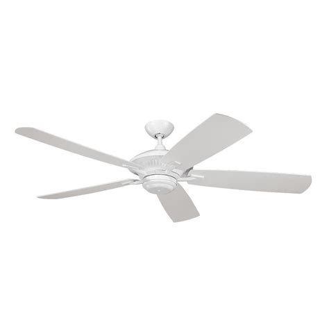 white ceiling fan without light ceiling fan without light in white finish 5cy60wh