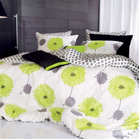 green and gray bedding total fab lime green and grey bedding sets