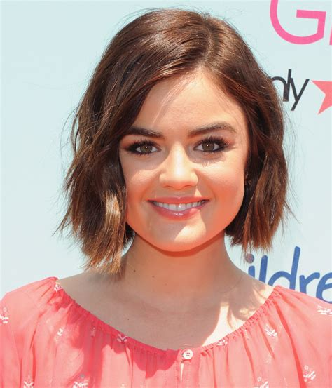 Lucy Hale Debuts a Dark New Hairstyle   Twist