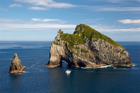 rock the boat tour nz hole in the rock bay of islands boat cruise fullers