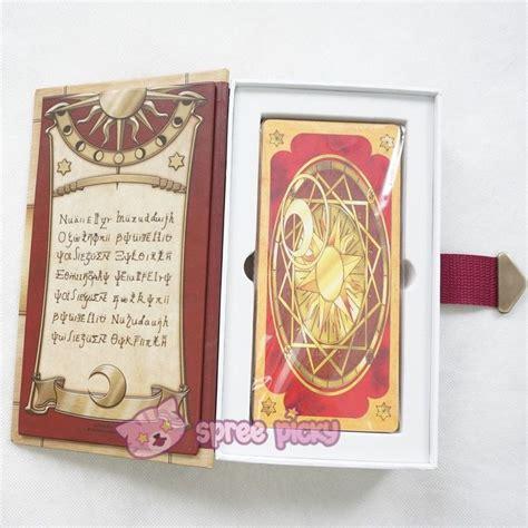 pattern magic matières extensibles cardcaptor sakura the clow card with magic book case