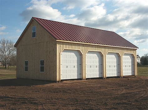 pole barns steel pole garage images