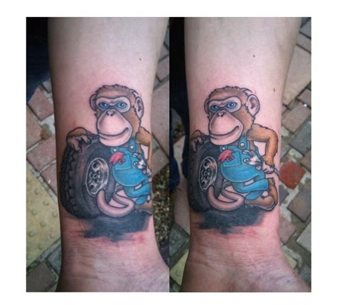 grease tattoo grease monkey tat idea tatting and