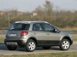 Suzuki Sx4 Fiat 187 U綣ywane Fiat Sedici I Suzuki Sx4 2007 2014 Pgd