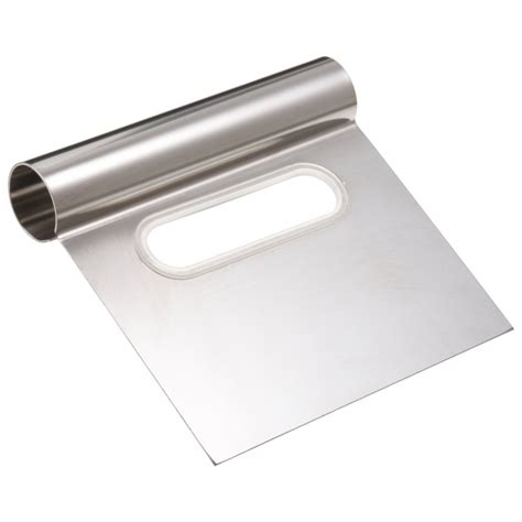 metal bench scraper ateco 1300 ateco stainless steel bench scraper 4 wide blade
