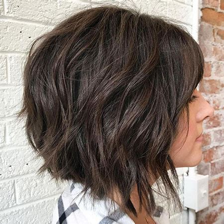 short dark brown hairstyles short hairstyles