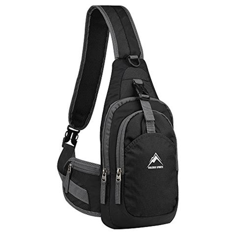 Sling Bag Mini Exsper sling backpack maleden water resistant outdoor shoulder
