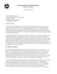 Multimodal Essay Sles by Letter From Transportation Foxx To House Senate Conferees Us Department Of