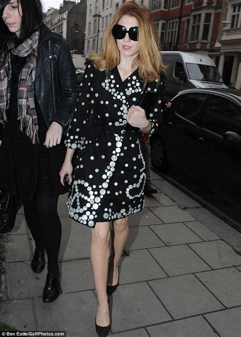 Burning bright: Flame-haired Nicola Roberts dresses like a ... Nicola Roberts Fashion