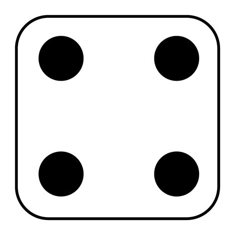 printable dice faces dice number 5 clipart best