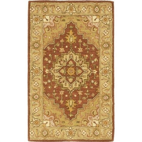 accents rugs safavieh heritage accent rug in rust gold hg345a 2