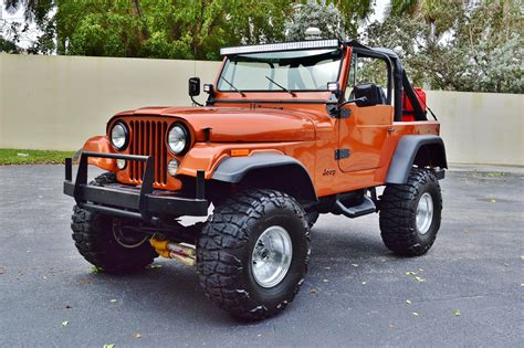 jeep cj 1979 jeep cj 7 sport wrangler 4 215 4 lifted custom suv