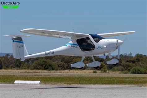 Electric Airplane by Electric Plane Takes Flight In Australia Solar