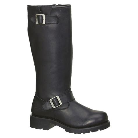 engineer biker boots s 16 quot ad tec 174 engineer biker boots black 303856