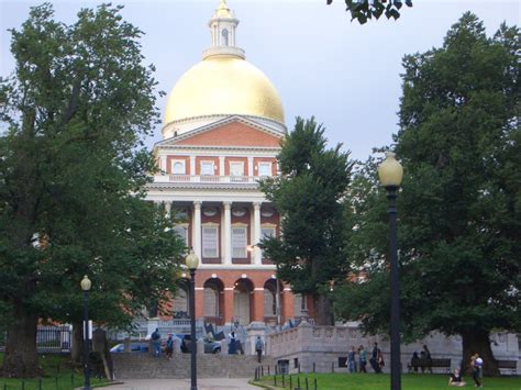 Golden House Ma by Panoramio Photo Of Boston Massachusetts State House