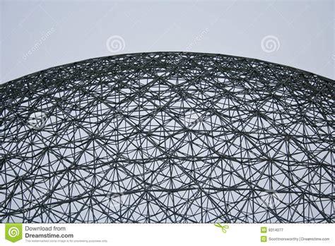 cupola geodetica fuller cupola geodetica pi 249 piena di buckminster fotografia stock