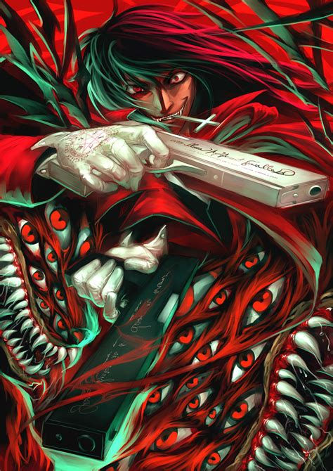 alucard wallpaper mobile alucard hellsing mobile wallpaper 297853 zerochan