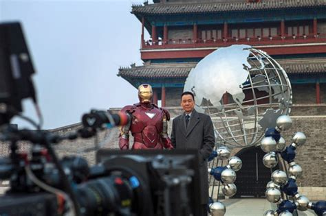 film set in china video iron man 3 china commercial rare promotion