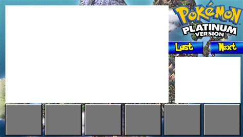 youtube first layout pokemon platinum youtube layout by rpgengineer on deviantart