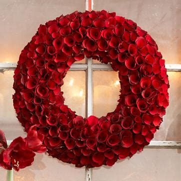 rose wood wreath