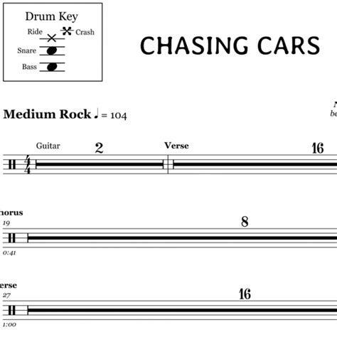 drum sheet    notes printable hd