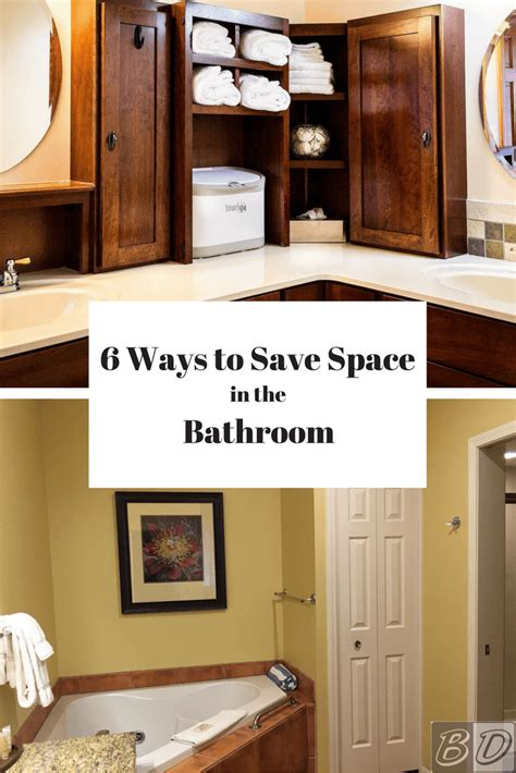 space saving bathroom ideas 6 space savers for small bathrooms space saving bathroom