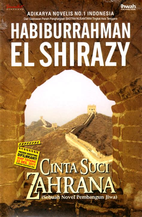 Novel Arjuna Mencari Cinta memorable quotes cinta suci zahrana habiburrahman el shirazy astumd