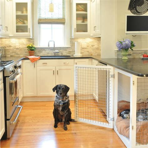 built in dog house 12 indoor dog houses that we think are pawsitively genius