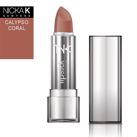 Shop Coral Lipstick calypso coral lipstick by nicka k new york