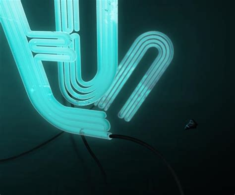 typography tutorial neon how to make 3d neon light typography