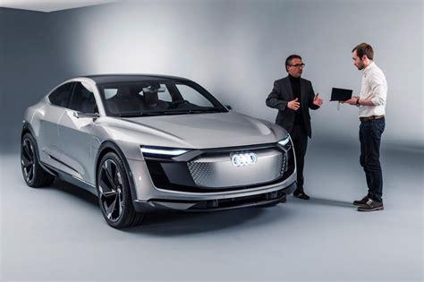 Audi Sportback E Tron by Audi E Tron Sportback Concept Revealed Pictures Auto