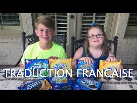 challenge traduction the oreo challenge mattyb vs grace traduction