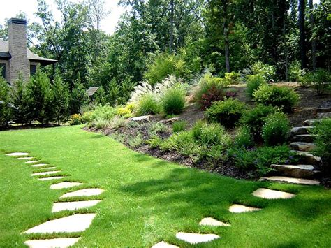 backyard pathways atlanta landscaping photos