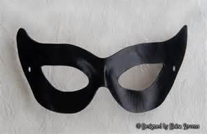 marvel black cat mask template 50s black leather mask gotham villian